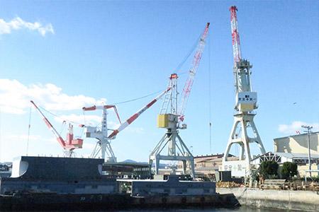港湾・造船・マリーナ--